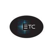 ETC Oval Bumper Sticker