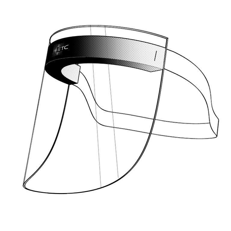 Face Shield (Non-Latex), Set of 8 - ETC, Inc.