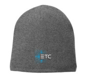ETC Fleece Beanie - Gray