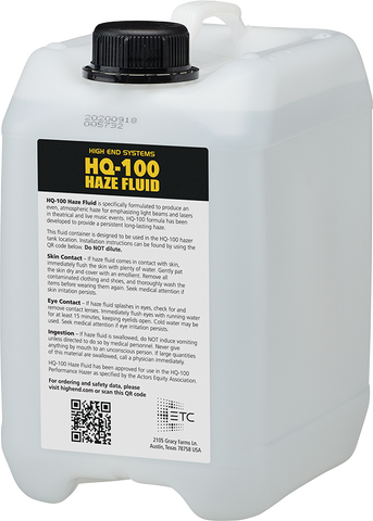 High End HQ-100 Hazer Fluid
