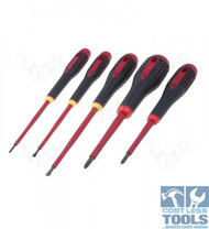 Bahco Electricians Screwdriver Set Slotted & Phillips® (1000V) - BE-9881S
