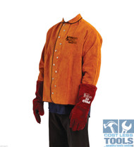 ProChoice Red Cow Split Leather Welding Jacket (Various Sizes Available)