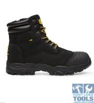 Diadora Craze Unisex Laced Work Shoes Black (UK Sizes)