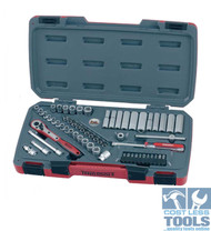 "Teng 1/4"" Drive Metric/AF STD & Deep 60 Piece Set - T1460"