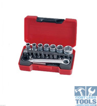 "Teng 1/4"" Drive 20 Piece Mini Set - T1420"