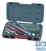 "Teng 3/8"" Drive 40 Piece Socket & Spanner Set - T3840"