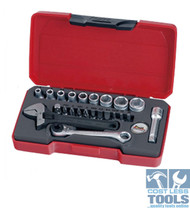 "Teng 1/4"" Hex Drive 23 Piece Set - T1423"