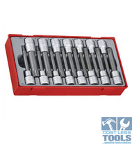 "Teng Tools 15 piece 1/2"" Drive Ribe and Spline Bit Socket Set TTRS15"