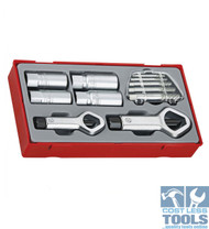 Teng Tools 11 pce Stud and Nut Remover Set TTSN11