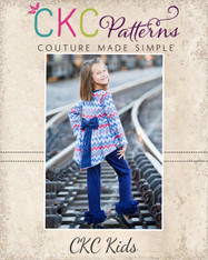 Aleya's Pointed High-Low Dress and Top Sizes 6-12m to 15/16 Girls PDF Pattern