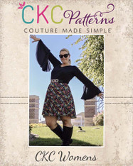 Kimber's Circle Dress Sizes XS to XL Women PDF Pattern