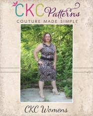 Sasha's Knit Dress, Top & Pencil Skirt Set Sizes XS to XL Women PDF Pattern