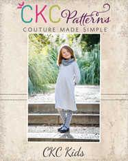 Kamry's Cowl Neck Dress and Top Sizes 2T to 15/16 Girls PDF Pattern