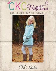 Haven's Hoodie Dress Sizes 6/12m to 15/16 Girls PDF Pattern