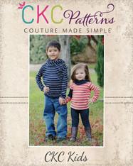 Hunter's Kids Cowl Neck Hoodie PDF Pattern