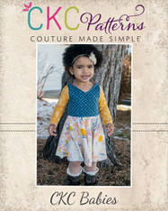 Kimber's Baby Circle Dress PDF Pattern