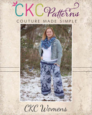 Jessica's Knit Ruffle Pants and Capris Sizes XS to 5X Adults PDF Pattern