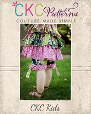 Danielle's Cuffed Shorts Sizes NB to 15/16 Girls PDF Pattern