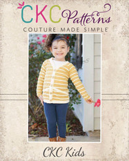 Emmalyn's Cardigan Sizes NB to 8 Girls PDF Pattern