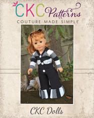 Emmalyn's Cardigan Doll Sizes PDF Pattern