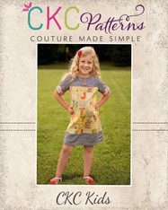 Paige's Perfect A-Line Top, Tunic, and Dress Sizes 6/12m to 8 Kids PDF Pattern