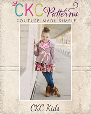 Bristol's Reversible High-Low Jacket Sizes 6/12m to 14 Girls PDF Pattern