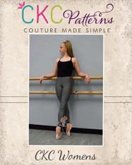 Carmen's Dance Capris Sizes XS to XL Women PDF Pattern