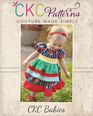 Embry's Baby Apron Peasant Dress PDF Pattern