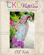 Faith's All sizes doll to Plus Shirred Sundress PDF Pattern