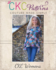 Zelda's Knit Irregular Hem Top and Tunic Sizes XS to 5X Adults PDF Pattern