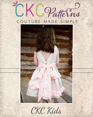 Blythe's Tiered Tunic, Dress, and Maxi Sizes 6/12m to 8 Girls PDF Pattern