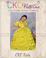Nancy's Fancy Ruched Dress PDF Pattern