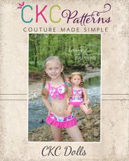 Brynnox's Doll Bow Bikini PDF Pattern