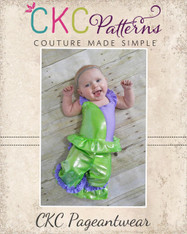 Gracelynn's Babies Colorblock Pageant Bodice PDF Pattern