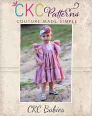 Emily's Babies Angel Sleeve Dress PDF Pattern