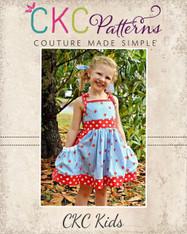 Polly's Pretty Pocket Dress PDF Pattern