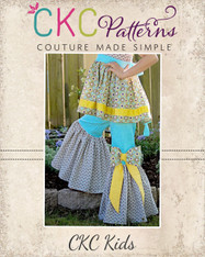 Juniper's Ruffled Bell Bottoms Sizes 6/12m to 8 Girls PDF Pattern