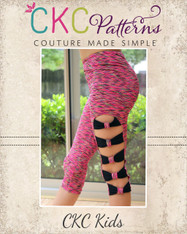 Barbie's Barre Leggings PDF Pattern
