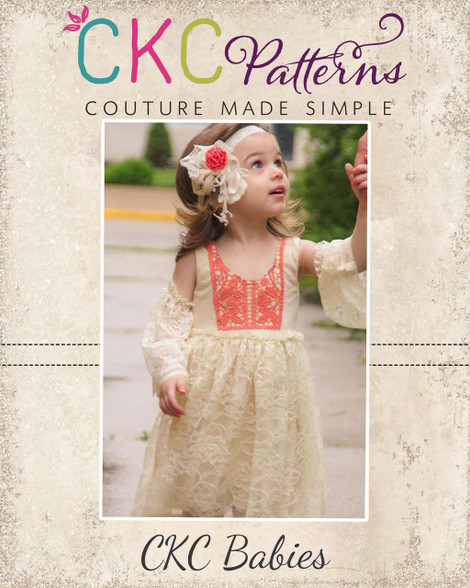 2a974d083698 ... Gypsy s Baby Boho Dress and Top PDF Pattern. Image 1