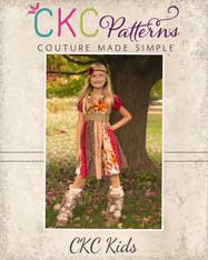 Jewel's Stripwork Dress PDF Pattern