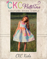 Lilou's Tiered Dress PDF Pattern