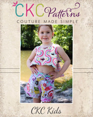 Norleen's Neatly Pleated Shorts PDF Pattern