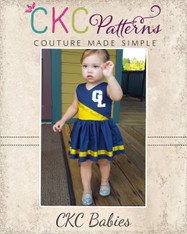 Jersey's Baby Cheer Dress PDF Pattern