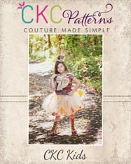 Rachel's ISpy Tulle Skirt Sizes 2T to 14 Girls PDF Pattern