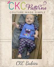 Landon's Baby Knit Pants PDF Pattern