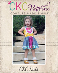 Perla's Perfectly Posh Knot Dress PDF Pattern