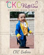 Charles' Baby Prince Jacket Boys PDF Pattern
