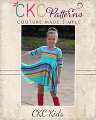 Mattia's Asymmetrical Circle Dress and Tunic  PDF Pattern