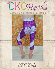 Bambi's Shapewear Pants, Shorts, and Capris Sizes 2T to 14 Kids PDF Pattern