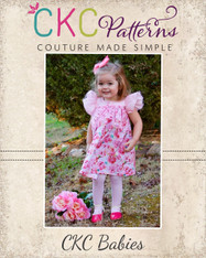 Trixie's Baby Flutter Ruffle Dress and Tunic PDF Pattern